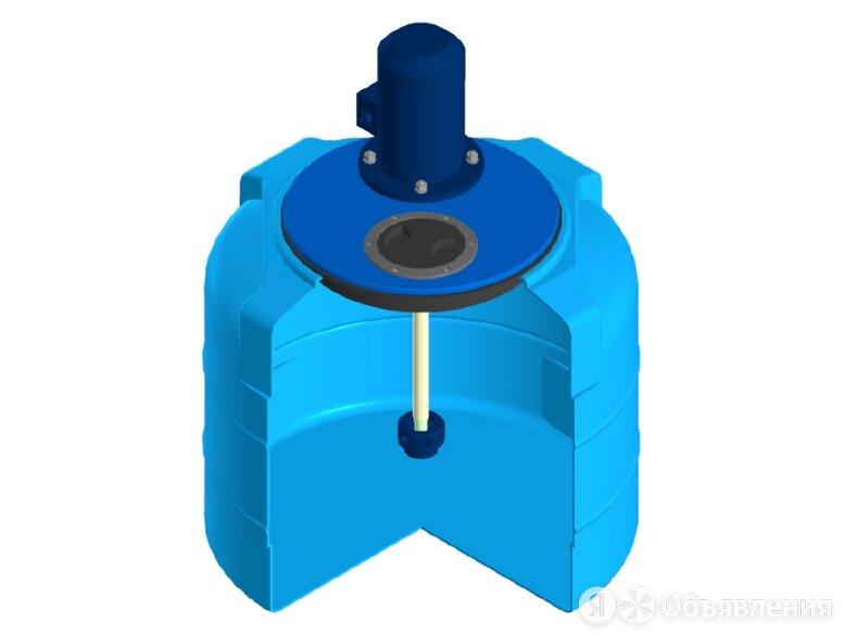 Емкость цилиндрическая ЭкоПром T 100, с турбинной мешалкой, 100 литров по цене 49752₽ - Готовые строения, фото 0