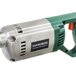 Вибротрамбовочное оборудование - Ручной электрический вибратор favourite 1200 Вт, 0
