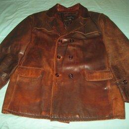 Куртки - Куртка кожаная David Moore 4XL/ Великан. , 0