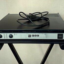 Аудиооборудование для концертных залов - Electro-Voice Q99 усилитель мощности 2 x 900 Вт/ пересыл, 0