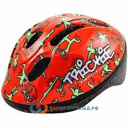 Защита и экипировка - Велошлем детский AUTHOR Trickie 151 Red/Grn, красно-зеленый, 8-9090080 (Размер, 0