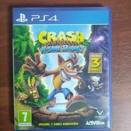 Игры для приставок и ПК - Crash bandicoot n sane trilogy ps4, 0