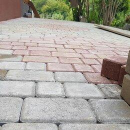 Тротуарная плитка, бордюр - Укладка брусчатки и камни , 0