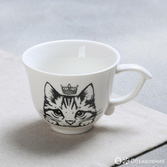 Чашка «Кошка», 150 мл по цене 543₽ - Мебель для кухни, фото 0