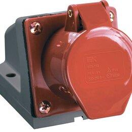 Электроустановочные изделия - Розетка ОП 32А 380В 3P+PЕ ССИ-124 IP44 IEK…, 0