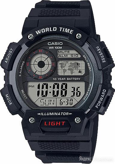Наручные часы Casio AE-1400WH-1A по цене 3790₽ - Наручные часы, фото 0