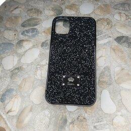 Чехлы - Чехол бампер на IPhone 11 блестящий, 0