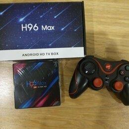 ТВ-приставки и медиаплееры - Смарт тв приставка Н96G 4+32 Gb с геймпадом, 0
