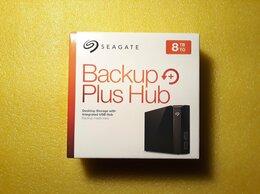 Внешние жесткие диски и SSD - Новый 8Tb Seagate Backup Plus Hub, 0