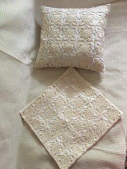 Декоративные подушки - Декоративная наволочка ручная работа, 0