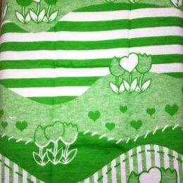 """Одеяла - Одеяло байковое 57-8ЕТЖ """"Цветочный луг"""", 100% хл. 140х100, 0"""