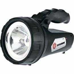 Защита и экипировка - Фонарь поисковый, многофункциональный, аккумуляторный, 1+ 15 LED// Stern, 0