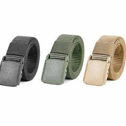 Ремни, пояса и подтяжки - Ремень тактический брючный черный зеленый песочный, 0
