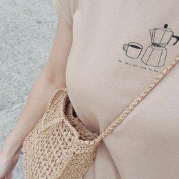 Сумки - Вязаные летние сумки, 0