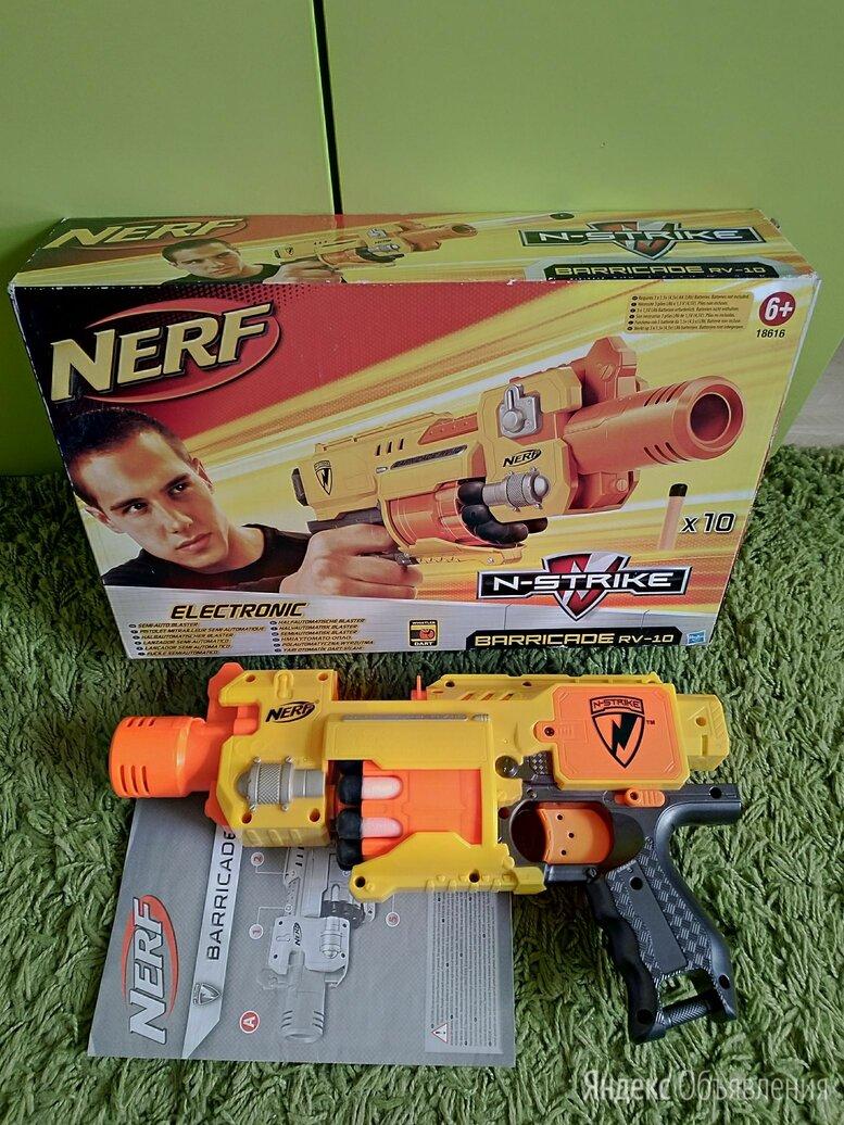 Бластер Nerf N-Strike Barricade RV-10 со стрелами  по цене 1000₽ - Игрушечное оружие и бластеры, фото 0