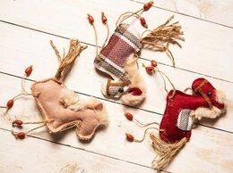 Ёлочные украшения - Ёлочная игрушка МИЛАЯ ЛОШАДКА, текстиль, 15 см,…, 0