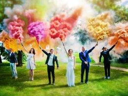 Украшения для организации праздников - Цветной дым для фотосессий , 0