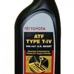 Масла, технические жидкости и химия - Масло Трансмиссионное Минеральное Toyota Atf T-..., 0