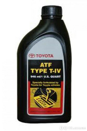 Жидкость Для Акпп Type T-Iv 946мл TOYOTA арт. 00279000T4 по цене 770₽ - Масла, технические жидкости и химия, фото 0