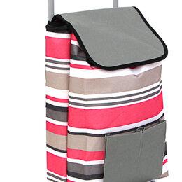 Тележки и тачки - Тележка + сумка, грузоподъемность до 30кг, брезент, ЭВА, 36х26х86см,/, 0