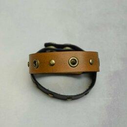 Браслеты - Кожаный браслет ручной работы. Натуральная кожа, 0