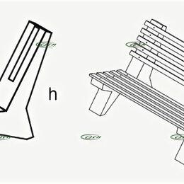 Скамейки - Опоры для скамеек ОП-1л, 0