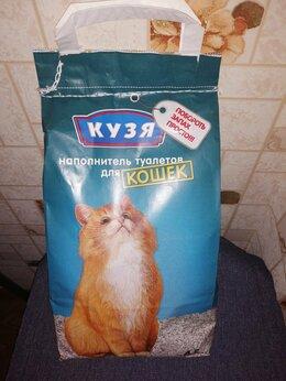 """Туалеты и аксессуары  - Наполнитель для туалета для кошек """"Кузя"""" , 0"""
