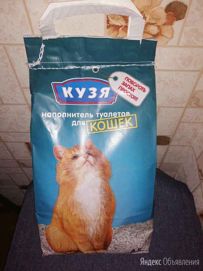 """Наполнитель для туалета для кошек """"Кузя""""  по цене 70₽ - Туалеты и аксессуары , фото 0"""