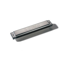 Губные гармошки - Hohner M255001 Big Valley С Губная гармоника тремоло, 0