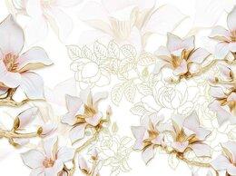 Обои - Фотообои 3д цветы, 0