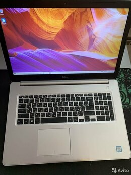 Ноутбуки - Игровой 17,3 Dell, i3-6006,8Гб,1000Гб,R7-M460 2Гб, 0