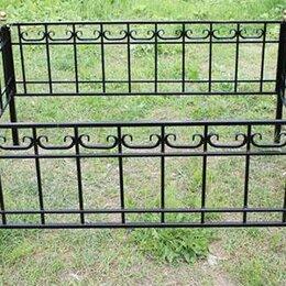 Ритуальные товары - Металлическая оградка №86 - изготовим по вашим размерам, 0