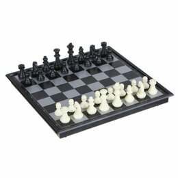 """Настольные игры - Нарды, шахматы, шашки - """"3в1"""", магнитные, 24*24 см, 0"""