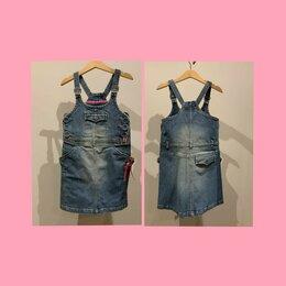 Платья и сарафаны - САрафан джинсовый для девочки 6 лет MEXX, 116 см, 0