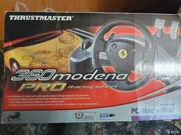 Рули, джойстики, геймпады - Руль ThrustMaster 360 Modena Pro Wheel (частично…, 0