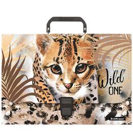 """Портфели - Папка-портфель 1 отделение Erich Krause """"Wild Cat"""" A4, 230*335*35мм, 800мкм, ..., 0"""