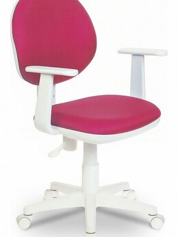 Компьютерные кресла - Кресло компьютерное Бюрократ CH-W356AXSN розовое, 0