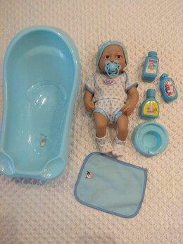 Куклы и пупсы - Пупс с ванной 36 см, 0