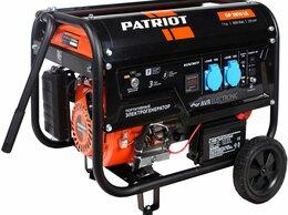 Электрогенераторы - Генератор бензиновый PATRIOT GP 3810LE ( артикул…, 0