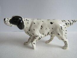 Статуэтки и фигурки - Сеттер белый собака фигурка авторская керамика…, 0