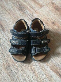 Сандалии - Кожаные сандали 21 размер , 0