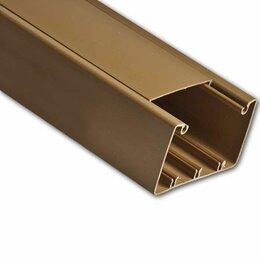 Товары для электромонтажа - Кабель-каналы Рувинил Кабель-канал 100х60мм (коричневый) Ruvinil 2м, 0
