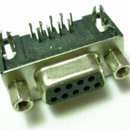 Компьютерные кабели, разъемы, переходники - Разъем последовательного порта 9 (4+5) pin, Female (розетка), 0
