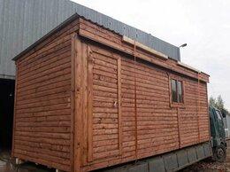 Готовые строения - Бытовка деревянная 6м, 0
