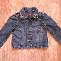 Куртки и пуховики - Джинсовая куртка на девочку, 0