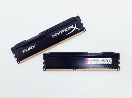 Модули памяти - Оперативная память Kingston HyperX FURY Black 4Gb, 0