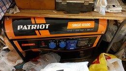Электрогенераторы - Бензогенератор Patriot SRGE 6500, 0