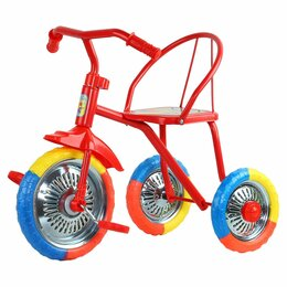 """Трехколесные велосипеды - Велосипед трехколесный  """"Озорной ветерок"""" , 0"""