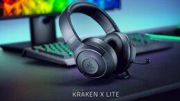 Компьютерные гарнитуры - Игровые наушники Razer Kraken X Lite (Новые), 0