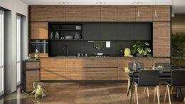 Шкафы, стенки, гарнитуры - Кухня с фасадами из шпона, 0